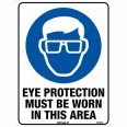 103M 225mm x 300mm Eye Protection Must Be Worn Sign